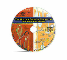 The Golden Book of Chemistry Experiments, Basic Fundamentals for Kids + Cd C02