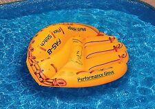 Swimline 90844SL Baseball Glove Float Inflatable Raft For Swimming Pool And Pond