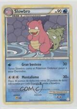 2010 Pokémon HeartGold & SoulSilver Base Set Spanish 52 Slowbro Pokemon Card 2f4