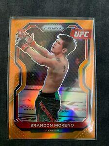 2021 UFC Panini Prizm Brandon Moreno Orange /99 RC ROOKIE 🇲🇽🇲🇽🇲🇽