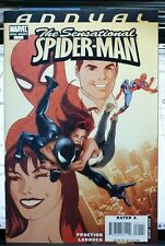 SENSATIONAL SPIDER-MAN ANNUAL #1 MARVEL COMICS (2007) MARY JANE BLACK SUIT