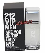 212 VIP Men by Carolina Herrera 6.7oz/200ml Edt Spray For Men New In Box