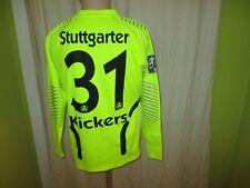Stuttgarter Kickers uhlsport Torwart Junioren Matchworn Trikot + Nr.31 Gr.M