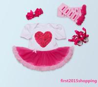 Reborn newborn baby girl doll clothes Clothing set skirt+headband+shoes handmade