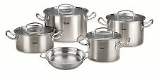 Fissler Topfset orig. profi collection 5-tlg. Glasdeckel  Cookstar Induktion 1A
