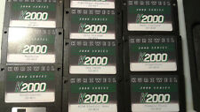 Kurzweil ~ K2000 DL 2 ~ MIXED BAG ~ 10 FLOPPY DISK SET w/HARD SHELL CASE!