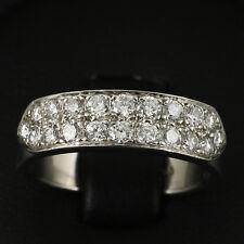 Moderner Halbmemory Brillant Ring mit ca. 1,20 ct., TW/VVS