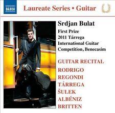 Tarrega: Srdjan Bulat: Guitar Recital, New Music