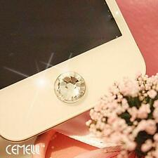 Bling deluxe diamond Home Button Sticker For iPhone 5S 4S 6 iPad 2 3 4 Mini A-zs