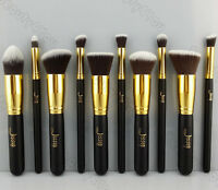 Pro Cosmetic Stipple Powder Blush Foundation Brush Makeup Tool Eye brushes kit