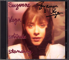 Suzanne VEGA Signiert SOLITUDE STANDING Tom's Diner Luca Gypsy Calypso Signed CD