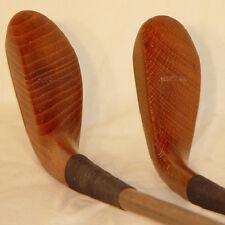 C59 St Andrews Hickory Shaft McEwan Long-nose Wood Head Driver & Putter Set
