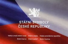Czech Republic 2018 MNH State Symbols 8v S/A Booklet Flags Emblems Stamps