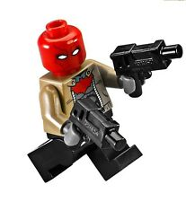LEGO DC COMICS SUPER HEROES BATMAN RED HOOD WITH DUAL PISTOLS MINIFIGURE 76055