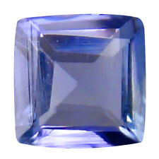 0.30 ct AAA Elegant Princess Cut (4 x 4 mm) Bluish Violet Tanzanite Gemstone
