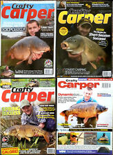 4 x Crafty Carper Magazines -  2003-2008-2010