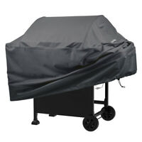Heavy Duty Waterproof BBQ Gas Grill Cover - Complete Outdoor Protection (Gray)