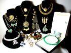 Vintage High End Jewelry Lot Christian Dior Bracelet Trifari YSL Ciner Monet AA