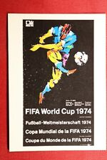 PANINI MEXICO 86 WORLD CUP ALBUM 1974 # 13 WITH ORIGINAL BACK!!!