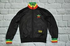 ADIDAS track jacket RASTA CHILE reagge marley firebird multicolor size S small