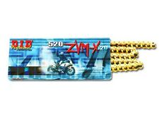 D.I.D DID 520 Super Street X-Ring ZVMX Series Gold Chain 120 LINKS 520ZVMX-120