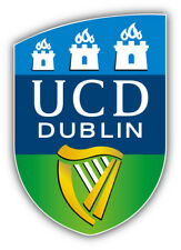 University College Dublin FC Ireland Soccer Football Car Sticker Decal 4'' x 5''