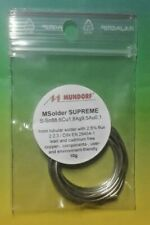 MUNDORF MSOLDER SUPREME SILVERGOLD Lötzinn Solder Silbergold 9,5Ag 10gr 1,7m