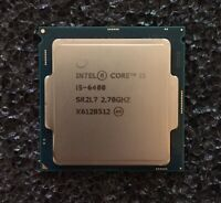 Intel Core i5-6400 2.70GHz 6MB SR2L7 FREE THERMAL PASTE! FREE SAME DAY SHIPPING