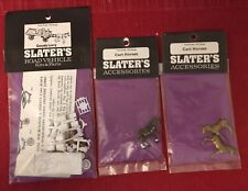 Slater's Road Vehicle Kit 4mm 00 Scale. Goods Lorry + 2 x Cart Horses. New