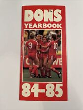Aberdeen FC Dons Yearbook 1984-85 collectable football