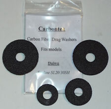 Carbontex Upgrade Drag Washers Daiwa SL20/30SH includes a 10g tub of Drag Grease