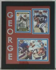 Eddie George Autographed Signed Football Card Tennessee Titans Framed 8x10