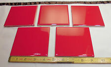 Glossy Ceramic Tiles Ruby Red By American Olean 4 1