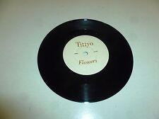 "Titiyo-Flores - 1990 Reino Unido 2-track 7"" SINGLE VINILO"