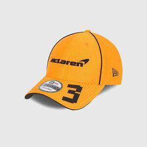 McLaren F1 2021 Daniel Ricciardo Team Cap - Orange