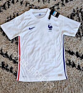 Maillot Jersey équipe de France domicile national 2021 Nike Vaporknit Blanc