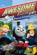 NEW Awesome Adventures: Rescue Friends, Vol. 1 (DVD, 2012) FACTORY SEALED