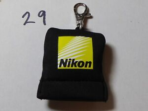Nikon  | Soft Lens Cloth | Fabric | Genuine | Used keyring  rare item  free post