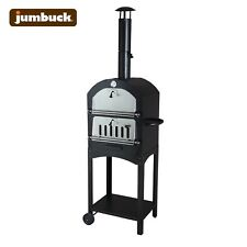 New Jumbuck™ Woodfire Charcoal Outdoor Pizza Oven Portable Ceramic Stone Plate