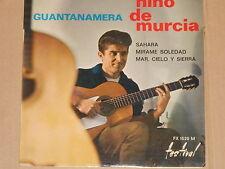 "Nino de Murcia-GUANTANAMERA - 7"" PE 45"