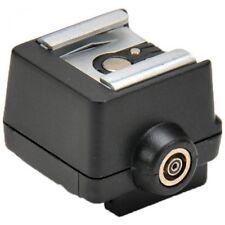 Flash Adaptador de zapata para cualquier aparato a Sony A Minolta Cámara FS-1100 Alpha