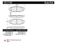 C-TEK Ceramic Brake Pads fits 2005-2009 Subaru Outback Legacy Forester  C-TEK BY