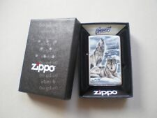 ZIPPO ★ WINTER WOLVES by Mazzi