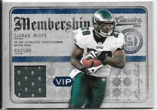 Panini Playoff BRIAN WESTBROOK LESEAN MCCOY Game-Used Jersey Lot x2 Eagles