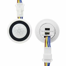 Light Switch Motion Sensor Detector Auto ON OFF PIR Infrared Time Delay 110V220V