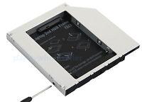 Nuevo Pata IDE a SATA 12.7mm 12.7 mm Universal 2nd HD HDD Caddy De Disco Duro