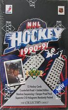 1990/91 UPPER DECK UD HOCKEY BOX Unopened 36 packs