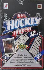 1990/91 UPPER DECK UD HOCKEY BOX Unopened 36 packs