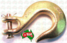 "CHEAP POST! 8 mm 5/16"" Chain Clevis Slip Hook Hooks High Tensile G70 3800kg Lash"