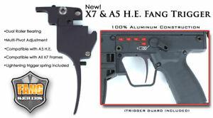 TechT Paintball Fang Trigger Upgrade For Tippmann A5 & Classic X7 HE Egrip